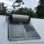Planet home Hervey Bay ENvirosun solar hot water installation