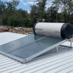 Envirosun solar hot water plonk for the Hervey Bay Roonsleigh builders
